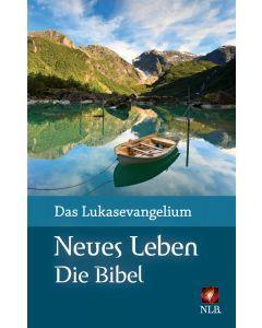 Das Lukasevangelium (Motiv Bergsee) Grossdruck