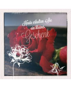 Blumenkarte