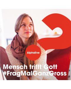 """Infoflyer """"Mensch trifft Gott"""""""