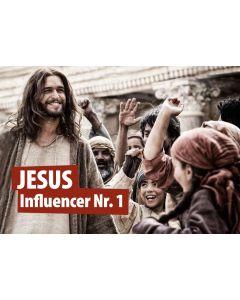 Postkarte Jesus Influencer Nr.1