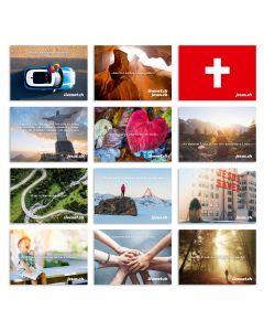 Postkartenset Livenet.ch & Jesus.ch