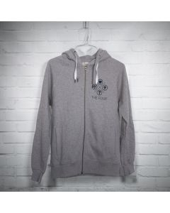 "THE FOUR Zip-Up Hoodie ""X FOUR Life"""