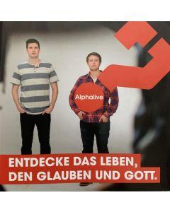 Alphalive Jugend Infoflyer